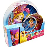 B.B.S. Kids' Princess Tableware Set, Melamine, 3-piece set