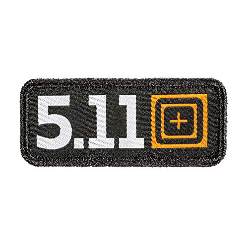 5.11 Tactical Legacy Woven Patch, Hook-Back Adhesion, Morale Fabric Badge, Multicolored, Style 81260 ()