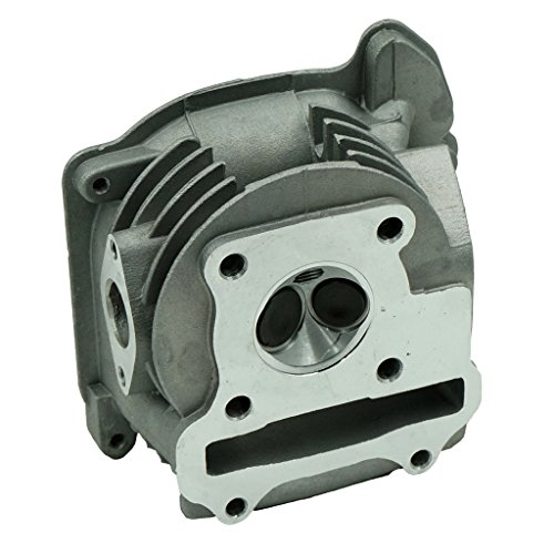- Glixal ATMT1-003 GY6 49cc 50cc Engine 39mm Cylinder Head with valves for 139QMB 1P39QMB Chinese Scooter Moped ATV Quad Go Kart (Non EGR Type)