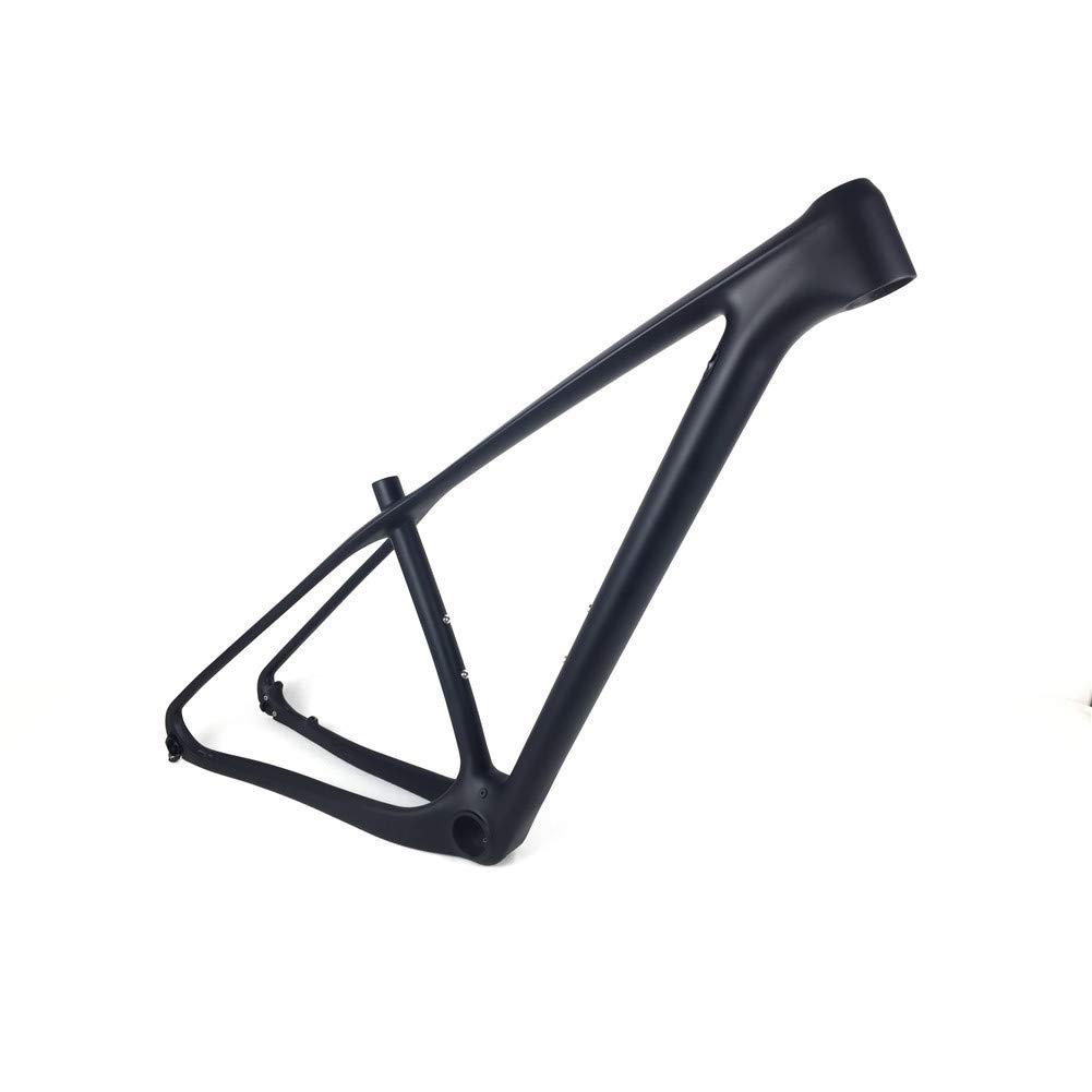 0d4b5c48739 Amazon.com : SPCYCLE 27.5er Black Matt Carbon MTB Bicycle Frames 650B Full Carbon  Mountain Bike Frames 135x9 QR and 142x12mm Thru Axle Compatible : Sports &  ...