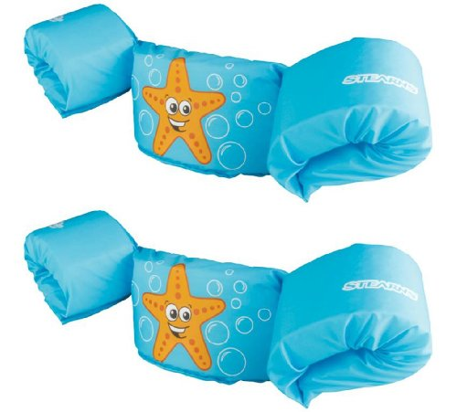 NEW (2) COLEMAN Stearns Kids Puddle Jumper Swimming Life Jackets | Blue (Coleman Sporting Goods)