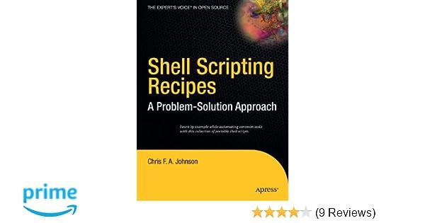 shell scripting recipes johnson chris