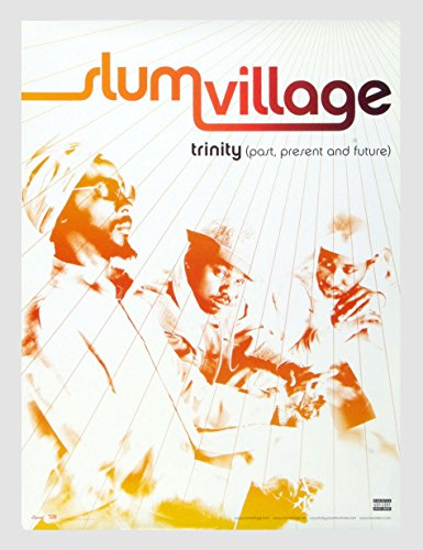 (Slum Village Trinity Poster 2002 New Album Promo 18 x 24)