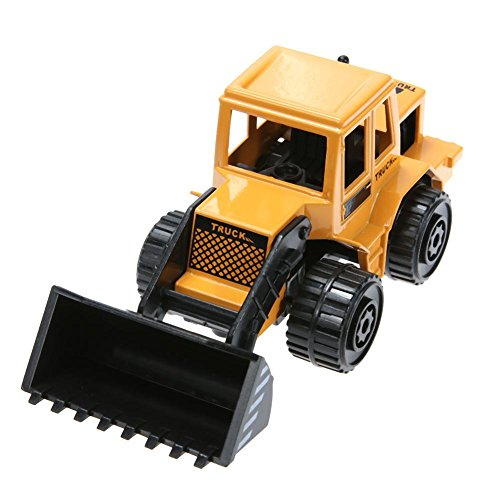 - Iainstars 1pc Alloy Simulation Engineering Truck Model Kids Puzzle Car Toy Gifts(A)