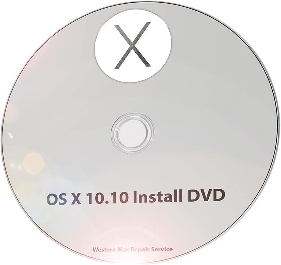 Mac OS X 10.10 Yosemite Full OS Install - Reinstall/Recovery Upgrade Downgrade/Repair Utility Factory Reset Disk Drive CD Disc DVD