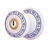 IntandExt Keyed Door Knob Lock Set Porcelain Ajustable Backset |Renovator's Supply