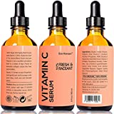 2 oz Vitamin C Serum - Facelift in a Bottle #1 - 100% Vegan Anti Aging Facial Serum Big 2 ounce (Twice the Size) with the Same Premium Ingredients.
