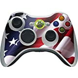Countries of the World Xbox 360 Wireless Controller Skin - The American Flag Vinyl Decal Skin For Your Xbox 360 Wireless Controller