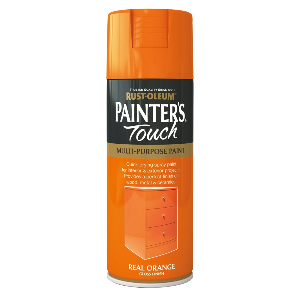 Rust-Oleum 400ml Painters' Touch Spray Paint - Satin White Tor Coatings Ltd AE0050002E8