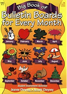 Giant Book Of Bulletin Boards For All Reasons And Seasons Joellyn Thrall Ciciarelli 9781574713718 Amazon Com Books