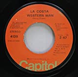 La Costa 45 RPM Western Man / Rescue Me