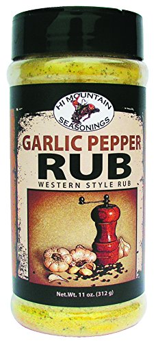 Hi Mountain Garlic Pepper Rub ()