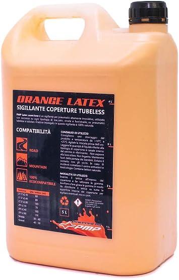 PMP Bike Orange Latex - Líquido sellador para neumáticos Tubeless ...