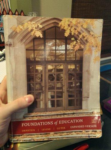 FOUNDATIONS OF EDUCATION CUSTOM