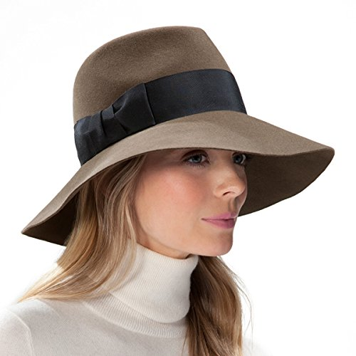 Eric Javits Luxury Fashion Designer Women's Headwear Hat - Tiffany - Putty by Eric Javits
