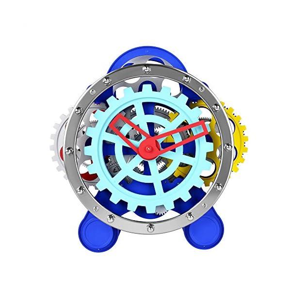 SevenUp Gear Clock-Premium Plastic and Metal Parts Material 4