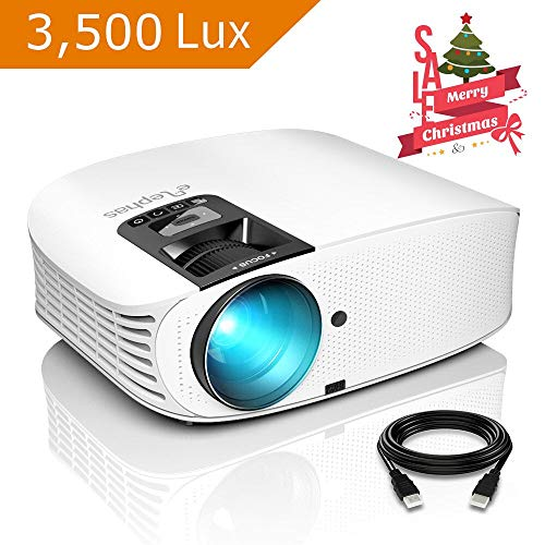 Projector, ELEPHAS [2018 Version] with 3, 500...