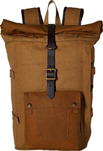 Filson Unisex Roll Top Backpack Tan Backpack ()