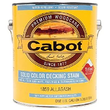 cabot 31275 solid color acrylic decking stain acrylic exterior white