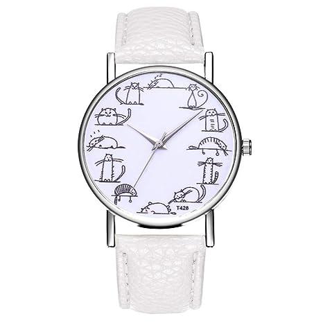 NO BRAND Reloj de Mujer de Moda Temperamento Casual Cinturón de ...