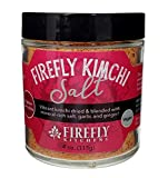 FIREFLY KITCHENS Firefly Kimchi Salt | A Bright Freeze-Dried Ferment-Infused with Mineral-Rich Salts and Organic Spices | Vegan | Packed in Glass | Popcorn Topper | Glass Rim Salt