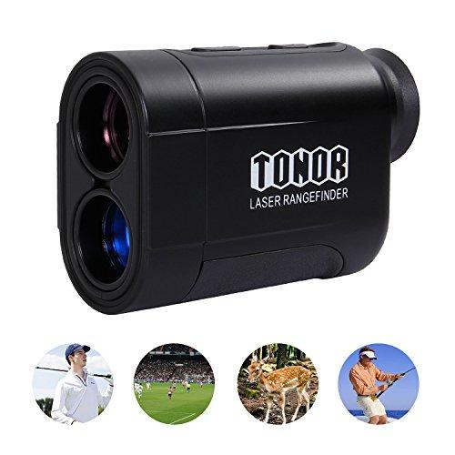 TONOR Golf Laser Rangefinder/Range Finder with Pinsensor/Bin