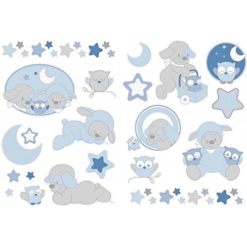 Autocollants Stickers Decoratifs Sam Et Toby Nattou 604321