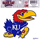 NCAA Kansas Jayhawks Small Window Decal/Stickers