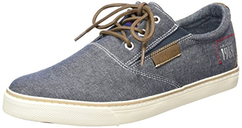 s.Oliver 13613, Men's Low-Top Sneakers Blue (Denim 802)