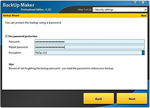 Backup Maker – high standard data backups Windows 10, 8 1, 8, 7 Vista and XP