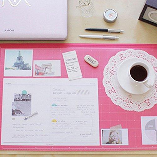 Amazon.com : Vintage Designed Desk Mat Ver. 02   Hot Pink : Office Products