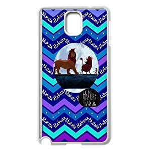 Custom LiuXueFei Phone caseHakuna Matata Quotes,Lion King For Samsung Galaxy NOTE3 Case Cover -Style-14