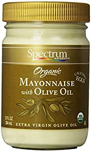 Spectrum Mayonnaise, Olive Oil, 12 oz