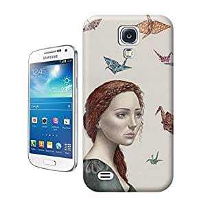 Yishucase-Paper_birds durable top Hard Cover for Samsung Galaxy Note 4 case