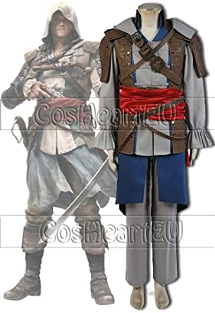 Assassin S Creed 4 Black Flag Edward Kenway Costume Outfit Cosplay