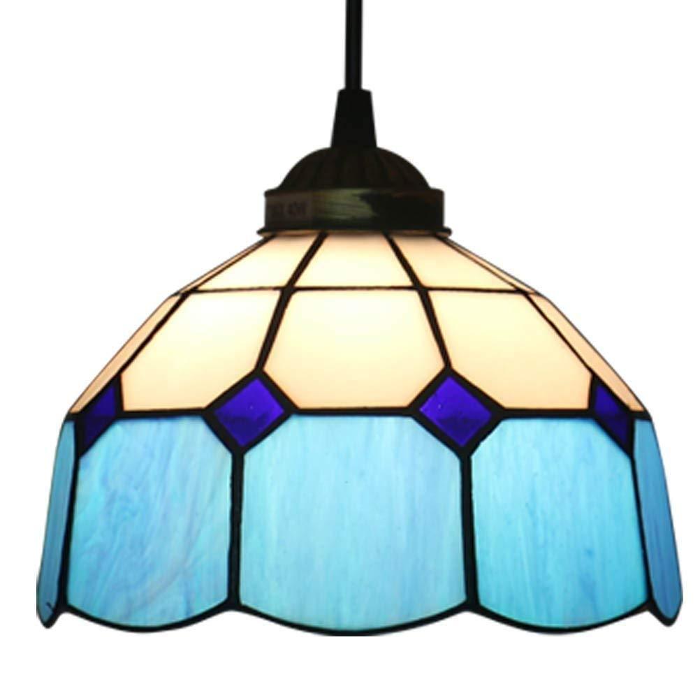 los nuevos estilos calientes CZSM Retro Pendant Light Light Light 1-Lights Salón Comedor Dormitorio Bar Araña de Estudio Lámpara de Techo Decorativa Decorativa de Vidrio Ajustable E27 Portalámpara Ø20cm M  tienda en linea