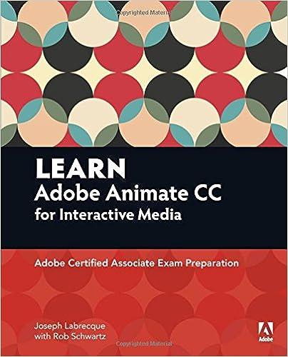 Amazon com: Learn Adobe Animate CC for Interactive Media