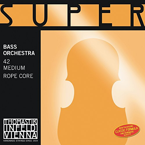 Thomastik-Infeld 43 Super Flexible, Double Bass Strings, Complete Set, 4/4 Size, Solo Tuning by Thomastik-Infeld (Image #1)
