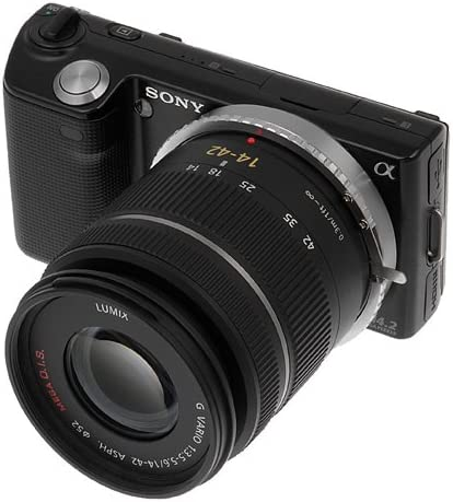 Fotodiox Lens Mount Adapter Compatible with Contax//Yashica Lenses to Sony E-Mount Cameras