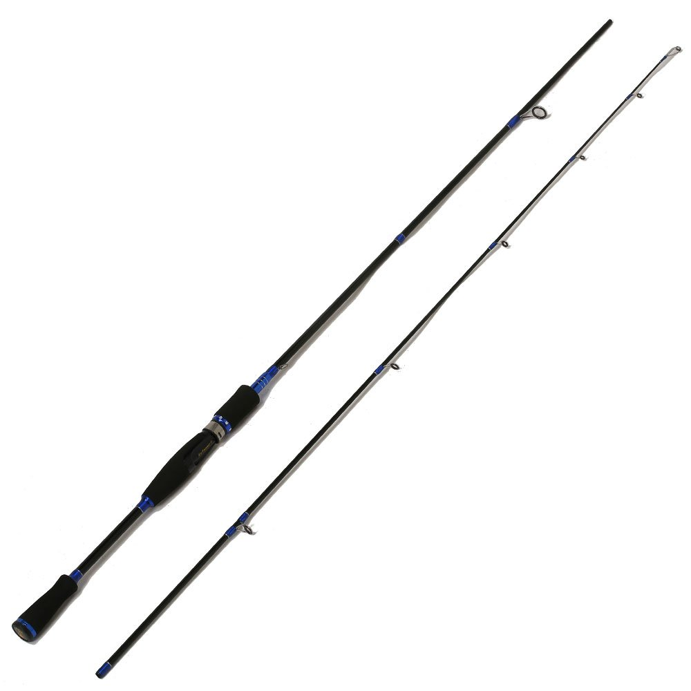 Entsport 2 Piece Spinning Rod Graphite Portable Spinning