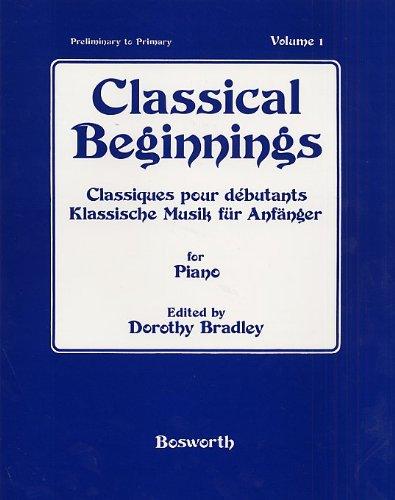 Klassische Musik für Anfänger 1. Für Klavier