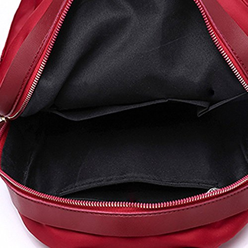 Crossbody Red Student Travel Fashion Women Bag Bag Bag JESPER Nylon Red Shoulder Backpack zt0wqHq4P