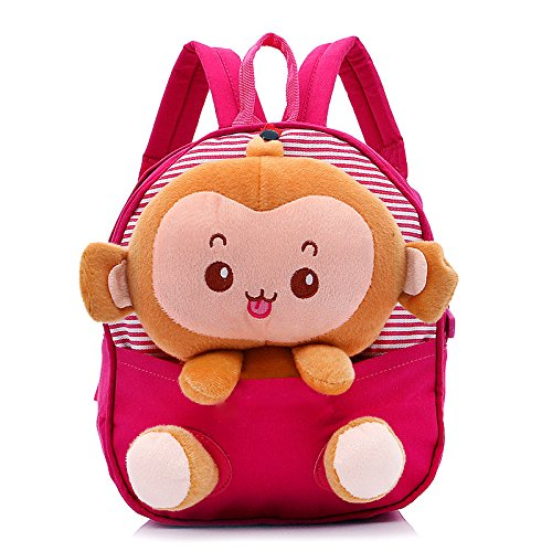 LORJE Kids Gift Ideas for Kids Boys Girls Canvas School Bag Animal Cartoon Backpack Satchel School Book Bag (Rose (Baby Cosplay Ideas)