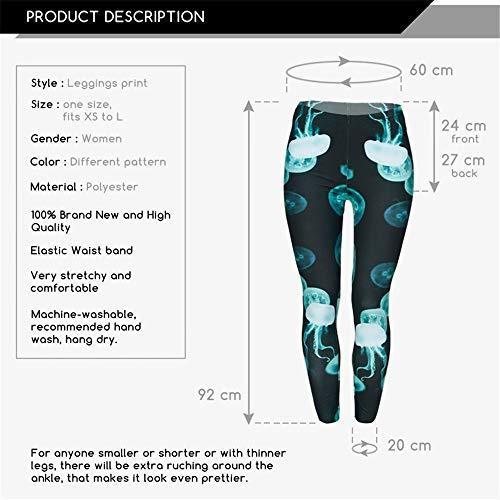 Pantaloni Piedini 3d Da Leggings Donna Lybtrouser Con Alta Elasticizzati Donna SHwpp