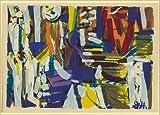 Photo: Pastorale,abstract prints,screen,art,Grace Hartigan,1953