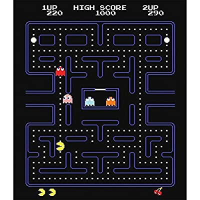 Johnson Smith Co. Classic Handheld Pacman and Ms Miniature Arcade Games w/ Joystick Control