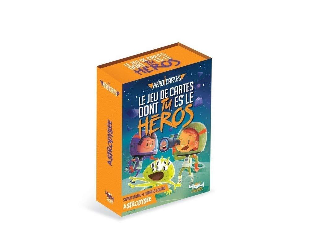 Heroicartes Astrodyssee Jeu De Cartes Dont Tu Es Le Heros De 8 A 12 Ans French Edition Bertal Steven Soland Charles 9791032403655 Amazon Com Books