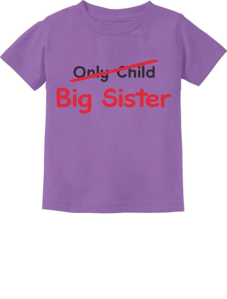 Only Child to Big Sister Baby Gift Idea Toddler/Infant Kids T-Shirt 4T Lavender G0PMM3hgm5lrm59ho