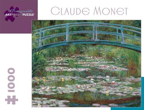 Claude Monet Japanese Footbridge Jigsaw Puzzle 1000pc