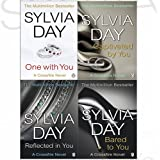 Sylvia Day Crossfire Series 4 Books Bundle Collection (One with You,Captivated by You,Reflected in You,Bared to You)